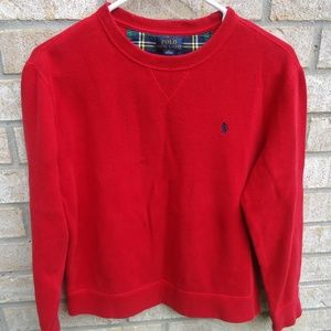 POLO by Ralph Lauren Boys Large 14 16 Red .